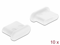 Delock Dust Cover for USB Type-C™ female without grip 10 pieces white