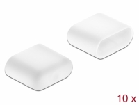 Delock Dust Cover for USB Type-C™ male 10 pieces white