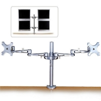 Lindy Dual Adjustable LCD Arms