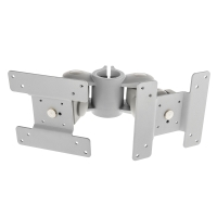 Lindy Dual Clamp Monitor Arm, Back to Back