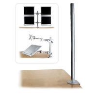 Lindy Desk Clamp Pole, 700mm