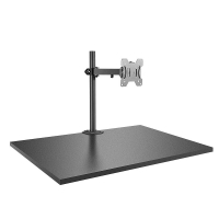 Lindy Single Display Bracket w/ Pole & Desk Clamp