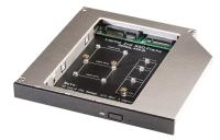 Lindy Slim ODD Caddy for mSATA & M.2 SSD