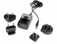 Lindy Multi Country Switching AC Adapter - 9V DC, 0.5A, 2.5mm Inner / 5.5mm Outer DC Jack
