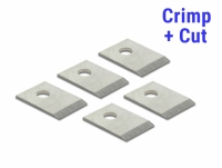 RJ45 Crimp+Cut Blade Set 5 pieces for Delock 86450