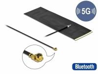 Delock 5G LTE Antenna MHF® I plug -0.42 - 5.00 dBi omnidirectional FPC