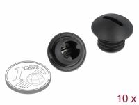 Delock Sealing Plug M10 x 1.5 black 10 pieces