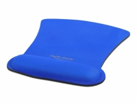 Delock Ergonomic Mouse pad with Wrist Rest blue 255 x 207 mm