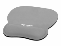 Delock Ergonomic Mouse pad with Wrist Rest grey 245 x 206 mm