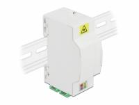 Delock Optical Fiber Connection Box for DIN Rail 4 x SC Simplex or LC Duplex