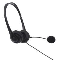 Lindy Adjustable Headphones With Microphone