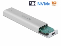 Delock External Enclosure for M.2 NVMe PCIe SSD with SuperSpeed USB 10 Gbps (USB 3.2 Gen 2) USB Type-C™ female
