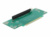 Delock Riser Card PCI Express x16 to x16 left insertion - Slot height 53.9 mm