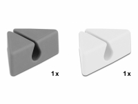 Delock Cable Holder triangle Set 2 pieces