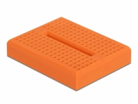 Delock Experimental Mini Breadboard 170 contacts orange