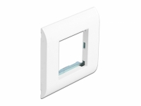 Delock Easy 45 Module Holder with Frame 80 x 80 mm white