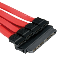ROLINE SAS to 4x SATA Cable, 0.5 m