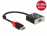 Delock Active DisplayPort 1.4 to HDMI Adapter 4K 60 Hz (HDR)