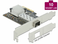 Delock PCI Express x4 Card to 1 x SFP+ slot 10 Gigabit LAN
