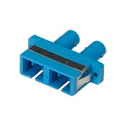 ROLINE Fiber Optic Adapter ST/SC Duplex Single-Mode Z