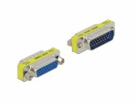 Delock HD/DB 26 pin Adapter male to female - Port Saver