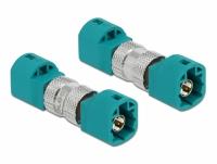 Delock Adapter HSD Z male to HSD Z male