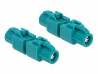 Delock Adapter HSD Z female to HSD Z female