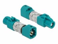Delock Adapter HSD Z female to HSD Z male