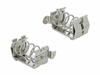 Delock Shield Clamp for DIN Rail - Cable diameter 15 - 32 mm
