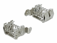 Delock Shield Clamp for DIN Rail - Cable diameter 10 - 20 mm