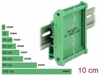 Delock Board Holder (72 mm) for DIN Rail 10 cm long