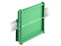 Delock Board Holder (107 mm) for DIN Rail 10 cm long