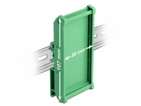 Delock Board Holder (107 mm) for DIN Rail 5 cm long