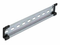 "Delock DIN Rail 35 x 7.5 mm (10"") Steel"