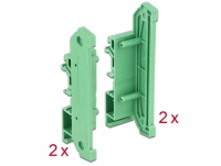 Delock DIN Rail Side Panel for Board Holder 4 pieces