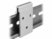 Delock Aluminium Mounting Clip for DIN Rail