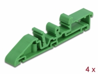 Delock DIN rail clip for PCB 85 mm 4 pieces
