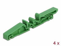 Delock DIN rail clip for PCB 115 mm 4 pieces