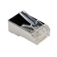 ROLINE Cat.6 Modular Plug, shielded, for Stranded Wire 10 pcs.