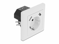Delock Wall Socket with 2 x USB Type-A Charging Port 2.8 A