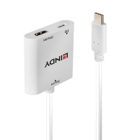 Lindy USB Type C to HDMI 4K60 Converter with Power Delivery