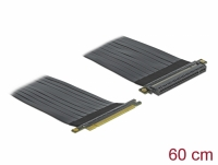 Delock Riser Card PCI Express x16 to x16 with flexible cable 60 cm