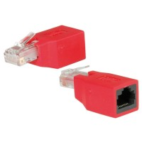 ROLINE RJ45 Crossover Adapter UTP, unshielded, Cat.5e
