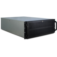 "VALUE 19"" Industrial Rack-Mount Server Chassis, 4UH, black"