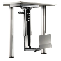 ROLINE PC Holder with rotation function, silver