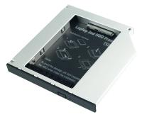 """Slim ODD Caddy for 2.5"""" SATA HDD 12.5mm"""