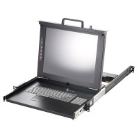 "VALUE 19"" LCD KVM Console, 43 cm (17"") TFT, VGA, USB + PS/2, UK"