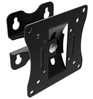 Monitor and TV wall mount, pivots and tilts