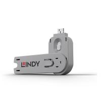USB Type A Port Blocker Key, white