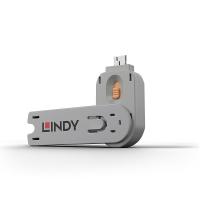 USB Type A Port Blocker Key, orange